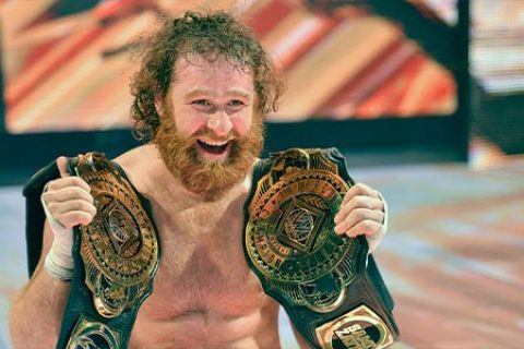 WWE冠军之战PPV,萨米扎恩使出诡计,杰夫和AJ斯泰尔斯惨遭暗算!