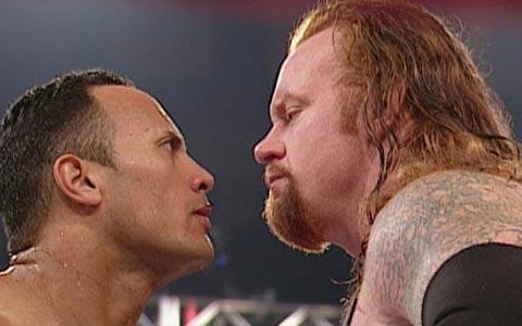 强森称赞送葬者是摔角界最顶峰,并且认为恶劣态度是最好的时代