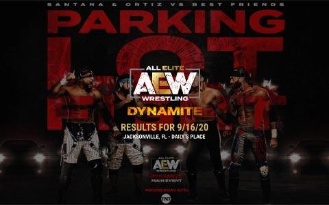 AEW Dynamite 第51期:血染赛场!AEW硬核停车场街斗赛