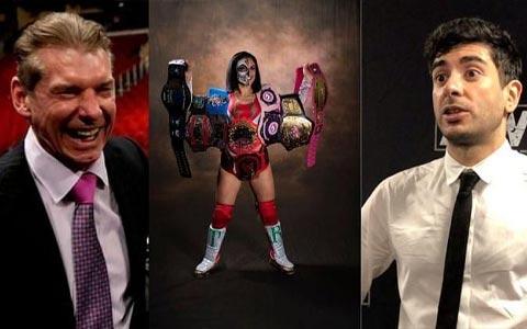WWE与AEW哄抢独立界最强女选手-雷霆罗莎?