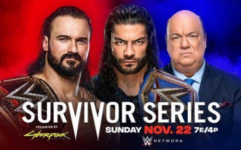 【实时更新】WWE幸存者大赛2020赛果:
