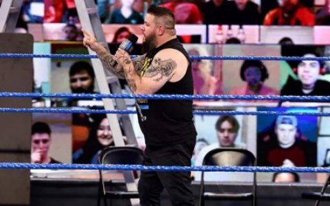 """职业摔角界的""""大黄蜂""""!阿恩·安德森盛赞WWE凯文欧文斯"""