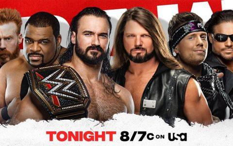 WWE RAW 第1439期