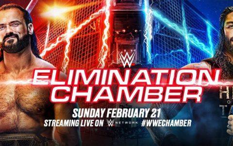 WWE铁笼密室淘汰赛新海报曝光,罗曼雷恩斯将卫冕冠军
