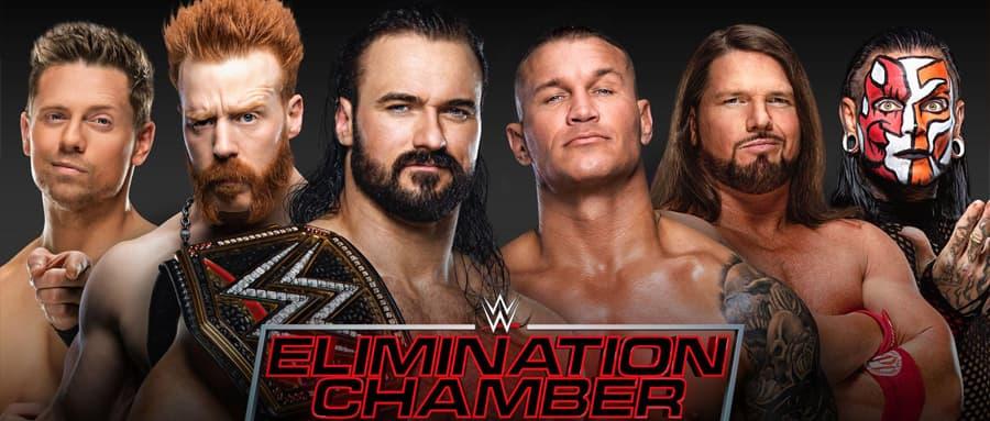 WWE铁笼密室淘汰赛阵容确定,五位挑战者都实力非凡,德鲁还能保住WWE冠军腰带?