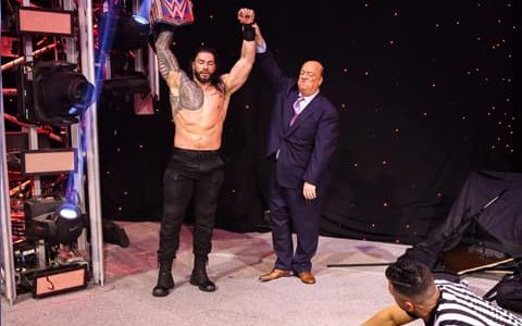 WWE皇家大赛2021战报:罗曼雷恩斯vs.凯文欧文斯(WWE环球冠军赛)