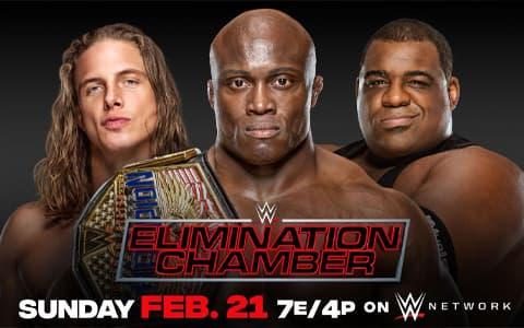 WWE美国冠军头衔赛已确定:鲍比·莱斯利vs.基斯李vs.里德尔(三重威胁赛)