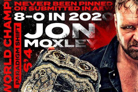 前AEW冠军-乔恩莫克斯利将出自传,一起翻阅你所不了解的院长!