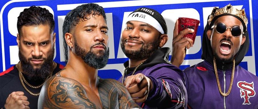 WWE SmackDown第1136期:乌索兄弟重返擂台,将对战街头小子
