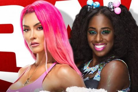 WWE RAW第1464期:伊娃玛丽回归对战娜欧米,德鲁麦金泰尔对战AJ斯泰尔斯