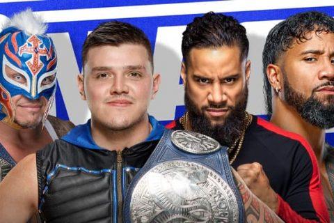 WWE SmackDown第1137期:罗曼雷恩斯给乌索兄弟施压,必须击败神秘人雷尔父子