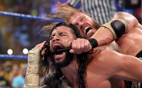 WWE SmackDown第1143期:赛斯罗林斯在四重威胁赛中拿下胜利,罗曼雷恩斯被艾吉袭击