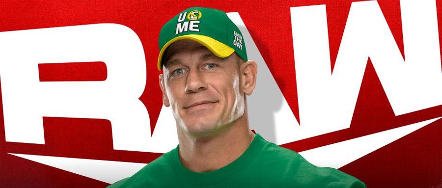 WWE RAW第1469期:约翰塞纳回归RAW、战神高柏挑战鲍比莱斯利