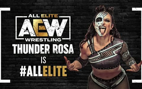 AEW再添大将!NWA前女子冠军Rosa加入AEW,成为全职选手。