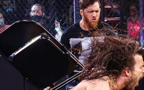 WWE NXT 第632期:凯尔·奥莱利用钢椅攻击亚当·科尔