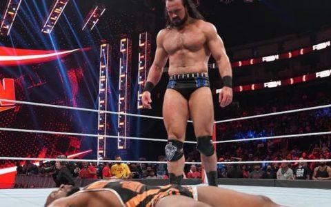 WWE RAW第1481期:德鲁麦金泰尔向WWE冠军发起挑战